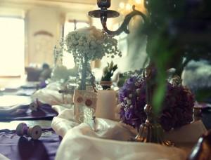 Hochzeitsdekoration in Venedig