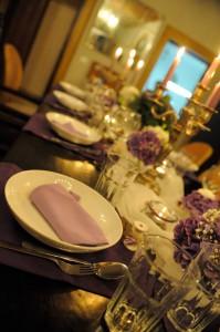Tischdeko Venedighochzeit