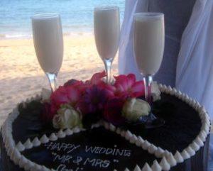 Hochzeitstorte auf Bali