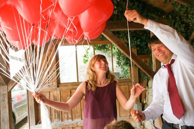 Hochzeitsplaner als Zeremonienmeister am Tag der Hochzeit